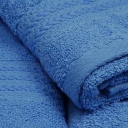 Set 3 prosoape de baie Simplicity, Hobby, 30 x 50 cm/50 x 90 cm/70 x 100 cm, 100% bumbac, bleu