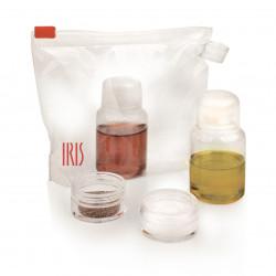 Set recipiente pentru ulei, otet, sare si piper 4 piese Travel, Iris Barcelona, 50 ml/10 ml, plastic