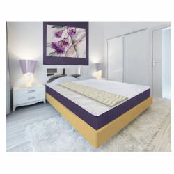Topper saltea Green Future, Lavanda Therapy 7 zone de confort 180x200 cm, 5 cm