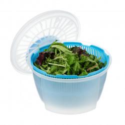 Uscator de salata si verdeturi, Vanora, 24x16 cm, plastic, albastru