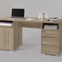 Birou, Primus Office, 145 x 74 x 65 cm, PAL, bej