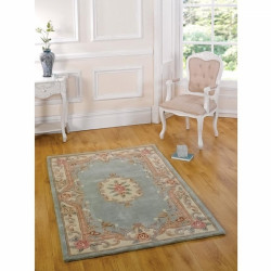 Covor Aubusson Green, Flair Rugs, 120x180 cm, lana, multicolor