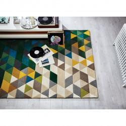 Covor Illusion Prism Green/Multi, Flair Rugs, 160 x 220 cm, 100% lana, multicolor