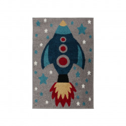 Covor Play Days Rocket Multi 80x120 cm, 100% polipropilena, multicolor