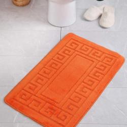 Covoras de baie Ethnic, Confetti, 50x80 cm, portocaliu