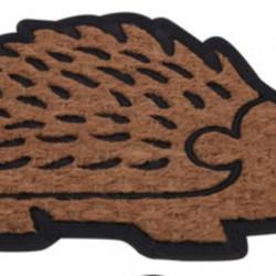 Covoras de intrare Hedgehog, 40x60 cm, fibra de cocos