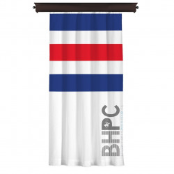 Draperie Beverly Hills Polo Club, 140x260, 100% poliester, Blue/Red/White