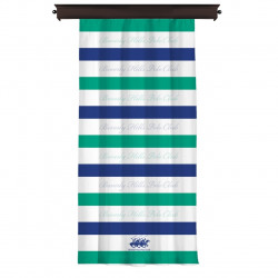 Draperie Beverly Hills Polo Club, 140x260, 100% poliester, White /Blue/Green