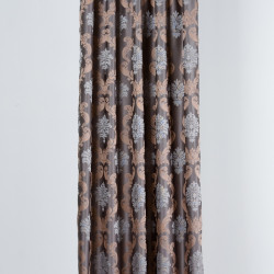 Draperie Imagine, Fira, 140x245 cm, poliester, bej/gri