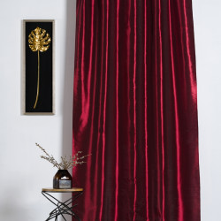 Draperie Imagine, Tafta Regal, 140x245 cm, poliester/nailon, bordo