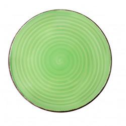 Farfurie intinsa Gala Green, Heinner, Ø27 cm, ceramica, verde