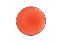 Farfurie pentru desert Gala Orange, Heinner, Ø19 cm, ceramica, portocaliu