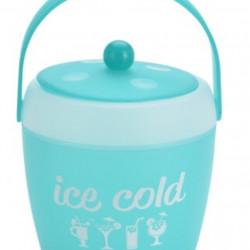 Frapiera cu cleste Ice, 1800 ml, polipropilena, turcoaz