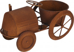Ghiveci Tractor, 38x18x20.5 cm, metal