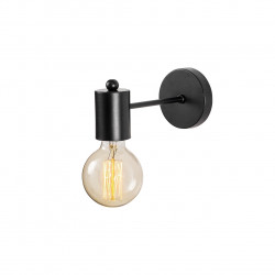 Lampa de perete Opviq Hexa, 10x21 cm, E27, 100 W, negru