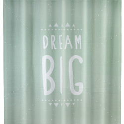 Perdea de dus Dream Big, Wenko, 180x200 cm, 100% poliester, multicolor
