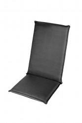 Perna scaun cu spatar, Alcam, De Luxe, Antracit, 118X48X7 cm