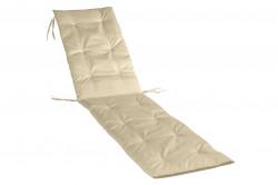Perna sezlong Alcam, Midsummer, 195x50x3 cm, material impermeabil, Bej