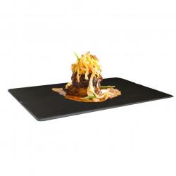 Platou pentru servire Jocca, 30x20x1 cm, negru