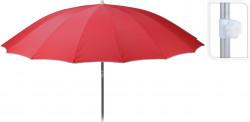 Umbrela pentru plaja Red, Ø240 cm, rosu