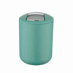 Cos de gunoi cu capac batant, Wenko Brasil, green, 2 L
