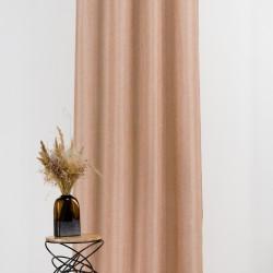 Draperie Mendola Interior, Hollandaise, 140x245 cm, poliester, bej