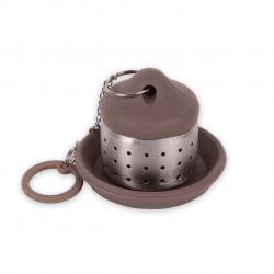 Infuzor pentru ceai cu suport, Luigi Ferrero Norsk FR-1740, inox/silicon