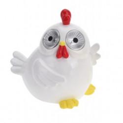 Lampa de gradina Chicken, 16x13x15.5 cm, poliston, alb
