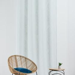 Perdea Mendola Interior, California, 140x260 cm, poliester, verde menta