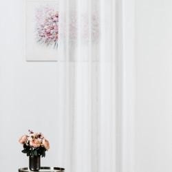 Perdea Mendola Interior, Troia, 140x245 cm, poliester, alb