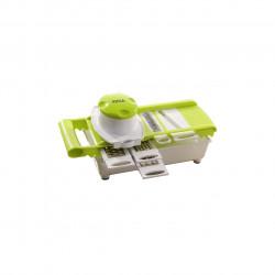 Razatoare multichopper Jocca, 14 x 15 x 31 cm, otel inoxidabil/plastic, alb/verde
