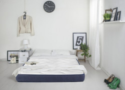 Saltea Cocos Polar Memory Jeans 140 x 200 cm