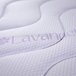 Saltea Lavanda Therapy PLUS, 14+6 Memory Arctic Gel 140x190 cm