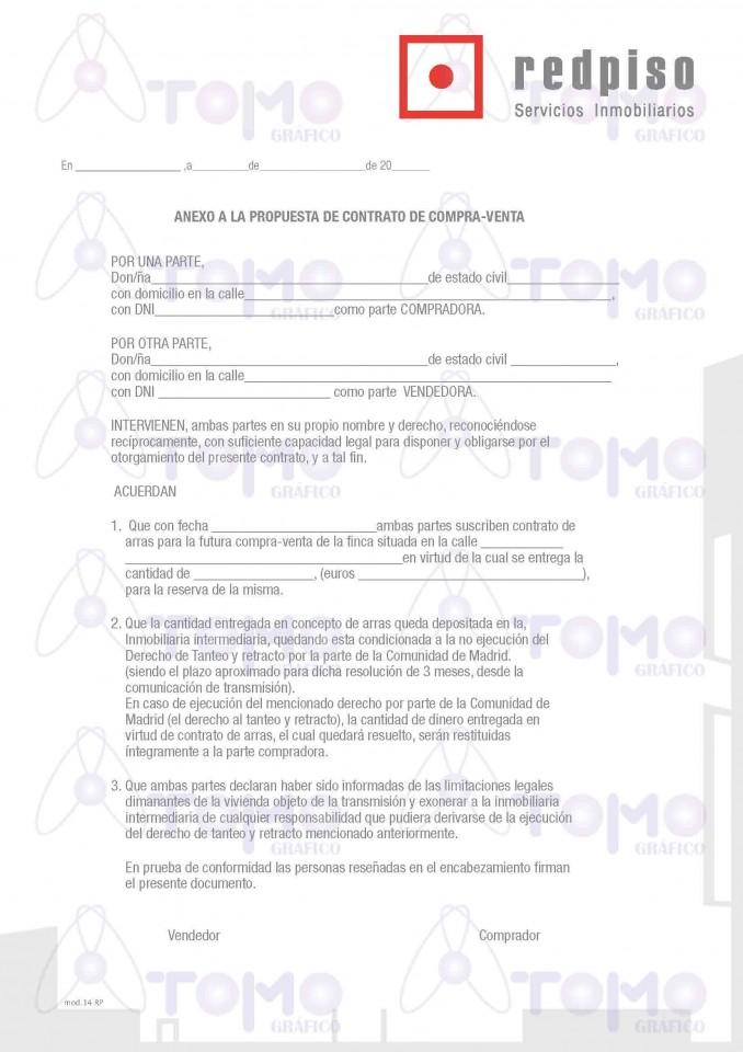 Anexo A La Propuesta De Contrato De Compra Venta Para