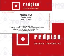 Tarjetas Comerciales  - REDPISO - LR imágenes
