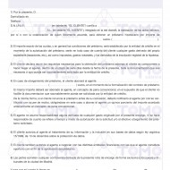 Nota de Encargo. - DCREDIT-  2 hojas
