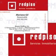Tarjetas Comerciales  - REDPISO - LR