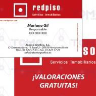 Tarjetas Comerciales - REDPISO - VG