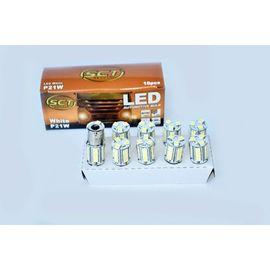 BEC LED P21W LED 24V 18x5050 BA15S SET 10 BUC