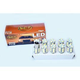 BEC LED P21W LED 12V 18x5050 BA15S SET 10 BUC