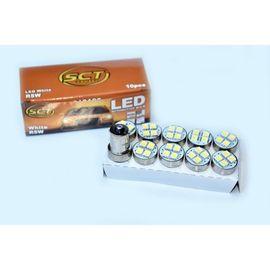 BEC LED R5W/10W LED 12V 4x5050 BA15S SET 10 BUC