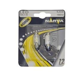 BEC CU LED 6000K 12V 0.35W SV8.5-36(blister)NARVA