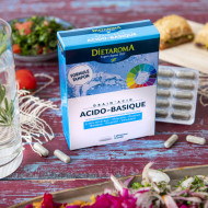 DRAIN'ACID 60 capsule, 32g, Zincul contribuie la un metabolism acido-bazic normal