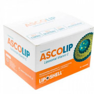 ASCOLIP 1000mg vitamina C Lipozomala 30 plicuri