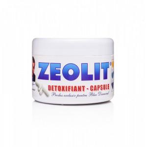 Zeolit mineral detoxifiant 250 capsule