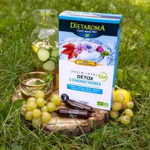 DRAIN IDEAL 20 fiole, 300ml, sustine detoxifierea, mentine o greutate corporala optima