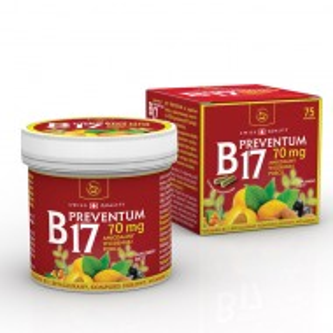 Vitamina B17 Preventum 75 capsule, detoxifiere, imunitate