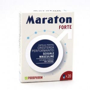 Maraton forte 20 capsule, creste performanta sexuala