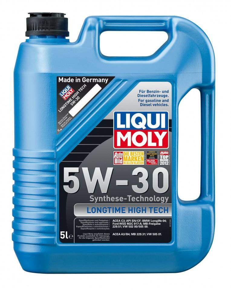 ulei motor liqui moly longtime ht 5w 30 1137 9507 5l. Black Bedroom Furniture Sets. Home Design Ideas