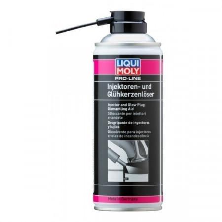Spray Liqui Moly Pro-Line pentru curatat injectoare si bujii incandescente